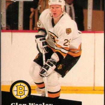 1991 - Hockey Cards (Boston Bruins) - Hockey
