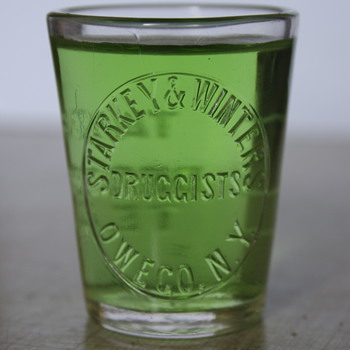 Starkey & Winters Pharmaceutical Glass..... - Advertising