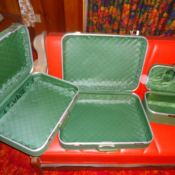 vintage luggage  - Bags