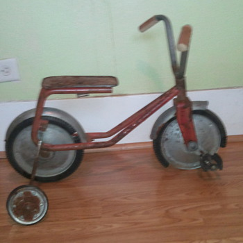 vintage front pedal bike - Sporting Goods