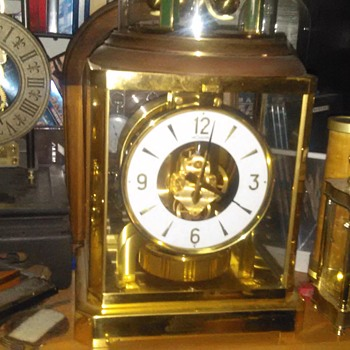 cool find clock LeCoultre Atmos clock