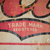1910-1915 Canvas Coca-Cola Banner (Partial)