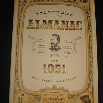 TELEPHONE ALMANAC FOR 1951