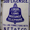 New England Telephone &amp; Telegraph Sub-Licensee Sign
