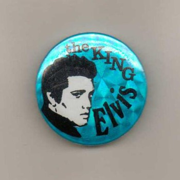 Elvis Presley Pinback Button - Medals Pins and Badges