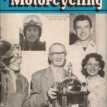 "1958 - ""American Motorcycling"" Magazine"