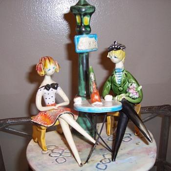 Mid Century Lucian Neuquelman Ceramic Piece