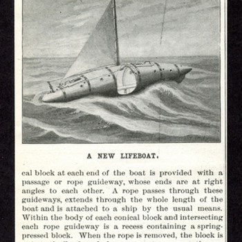Lifeboat article local invention