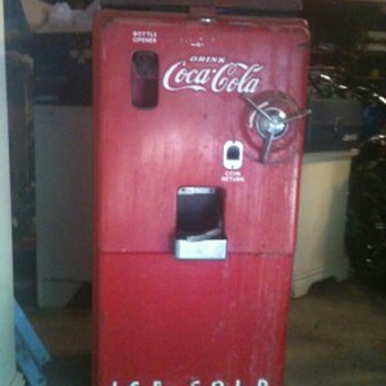 Help Identify a Coke Machine