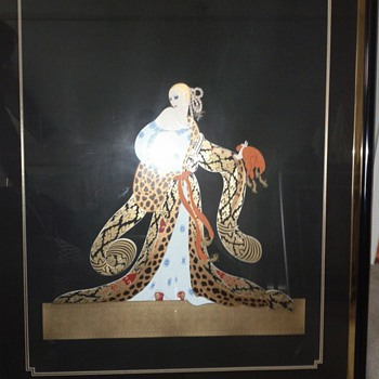 ERTE'S WITH  AUTHENTICITY LETTERS - Posters and Prints