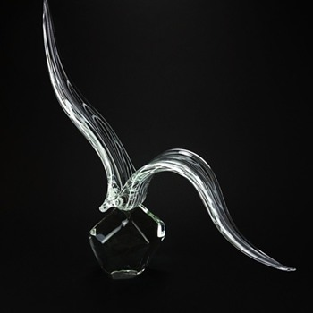 LICIO ZANETTI MURANO STYLIZED BIRD