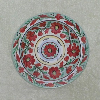 Brazil Hand-painted plate