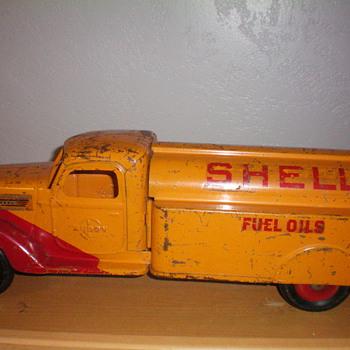 1938 shell tank truck