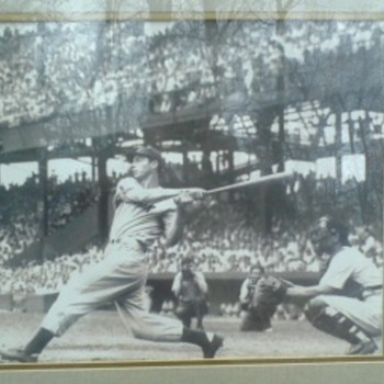 joe di maggio  picture - Baseball