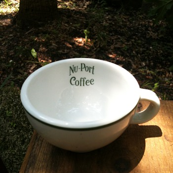 Vintage NU-PORT Coffee Cup