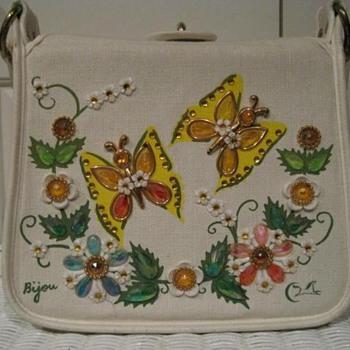 Vintage Enid Collins handbag. Butterflies - Bags