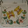 Vintage Enid Collins handbag. Butterflies