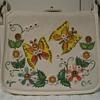 Vintage Enid Collins handbag. Butterflies