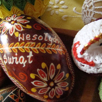 Happy Easter - Folk Art