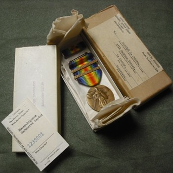 ID'd US WWI Victory Medal