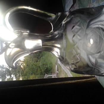 glass cruet? crystal? - Glassware