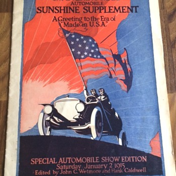 1915 The Evening Mail - Special Automobile Show Edition (Complete) - Paper