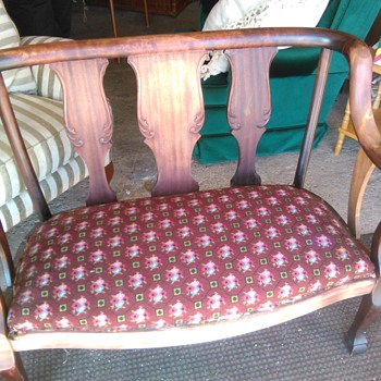 Vintage settee  - Furniture