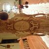 AUSTRIA VASE WITH DEER HEAD NUMBER 12071