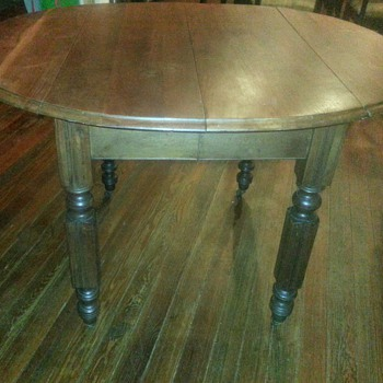 Buffalo Hardware Co Drop Leaf Table