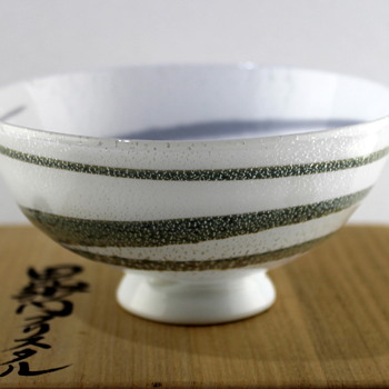 Glass bowl by Masahiro Horikoshi - Art Glass
