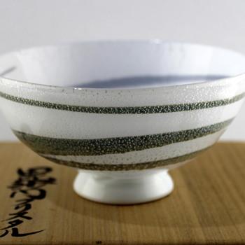 Glass bowl by Masahiro Horikoshi