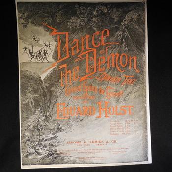 Vintage Sheet Music - Music Memorabilia