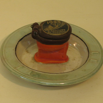 1933 Worlds Fair ash tray