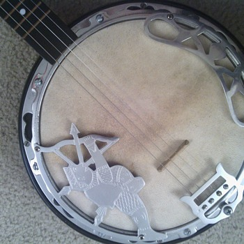 I&#039;m trying to find out what kind of banjo this is.   - Guitars