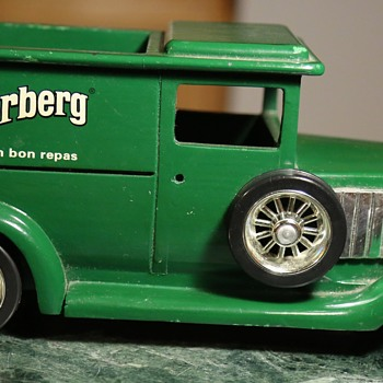 Underberg Bitters Advertising Piece - Wooden Car