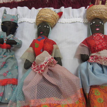 Cloth dolls, Britian dolls, Indian dolls 