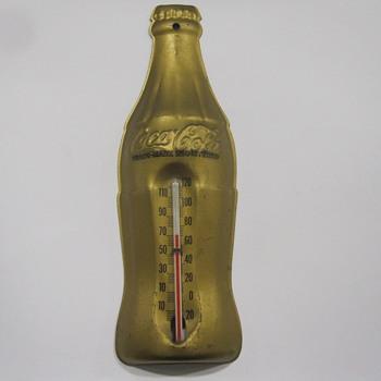 Vintage Coca-Cola Thermometer - Coca-Cola