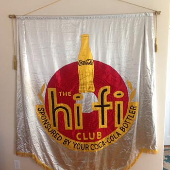 Hi Fi Club Silk Banner - Coca-Cola