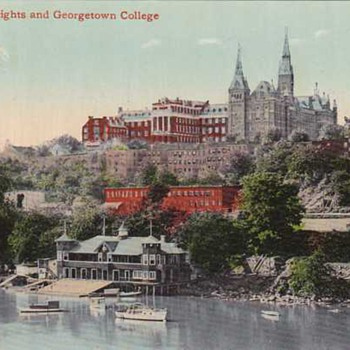 Georgetown Heights and Georgetown College - Postcards