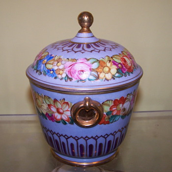MY BEAUTIFUL GARDEN SUGAR BOWL  - China and Dinnerware
