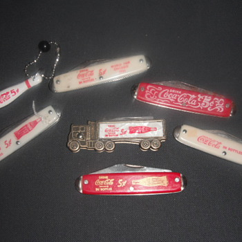 Coke Knife Collection