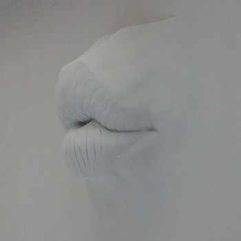 my lady's kiss as a wall relief - Visual Art