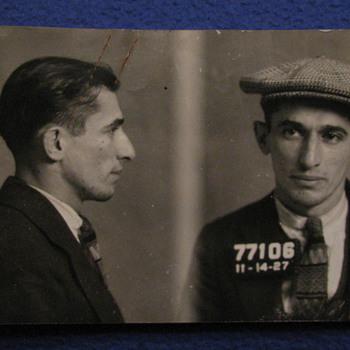 1927 Arrest Photo from Philadelphia, PA. - Photographs