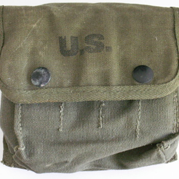1945 Military Pouch - Military and Wartime