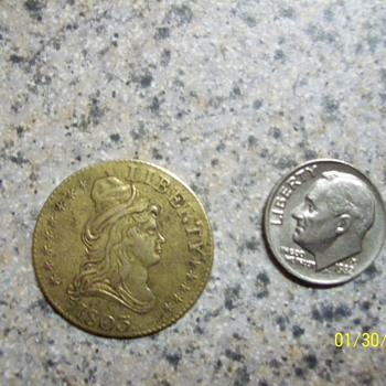 1803  /13 star gaming  - US Coins