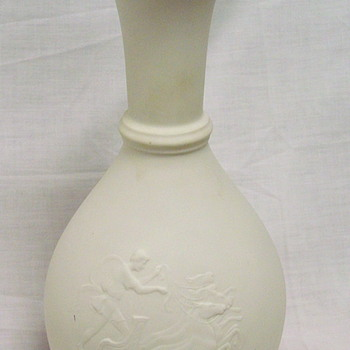 Limoges Vase by Theraud - Bisque - Hole in Bottom?