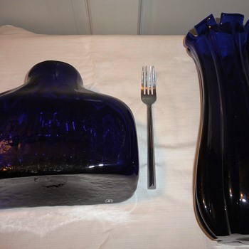 Cobalt Blue Art Glass