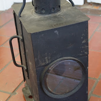 Un known Lantern... need help identifying.... - Railroadiana
