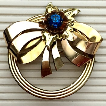 Harry Iskin brooch