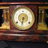 Wm. L. Gilbert Clock Co. Balckbird Mantle Clock